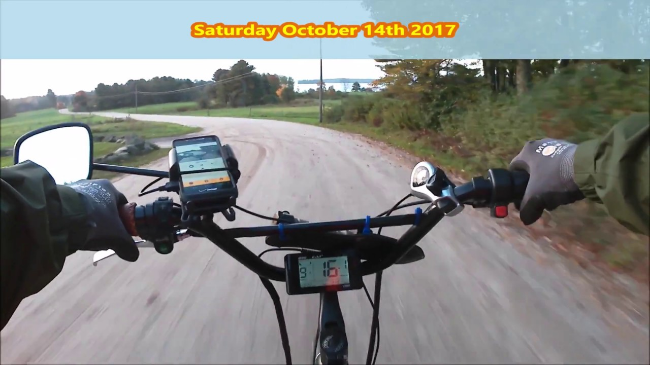 Big Cat Electric Bike Review Battery Mileage Test Youtube