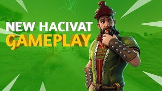 Peau HACIVAT ! ! Fortnite Battle Royale GAMEPLAY