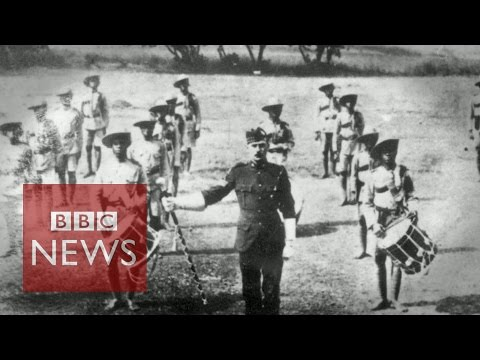 WW1: The crucial battle for Togo - BBC News
