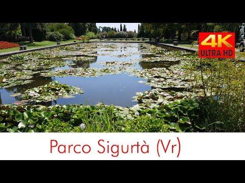 Parco giardino Sigurtà parco a Valeggio sul Mincio, Italia 4k