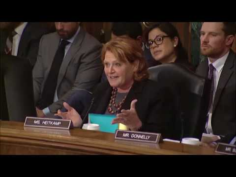 Heitkamp Bipartisan Bill to Protect Consumers & Boost Economic Growth  Passes Senate Committee
