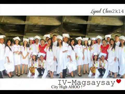 Thank You Once Again (G.S.C.H.S) IV MAGSAYSAY 2013-14