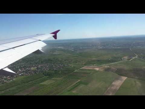 Chisinau KIV landing - Wizz Air A320