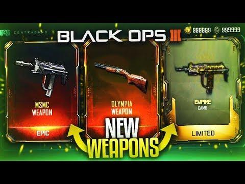 """NEW DLC WEAPONS"" & ""SECRET CAMOS"" -  NEW BO3 TRIPLE PLAY SUPPLY DROP OPENING! (BO3 DLC Update)"