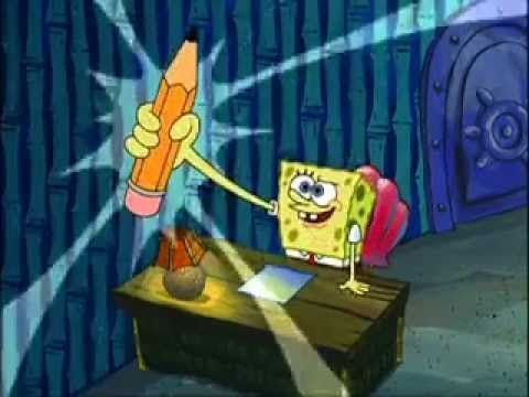 Spongebob essay the scene