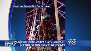 Roller Coaster Accident Leaves At Least Two Injured In Florida