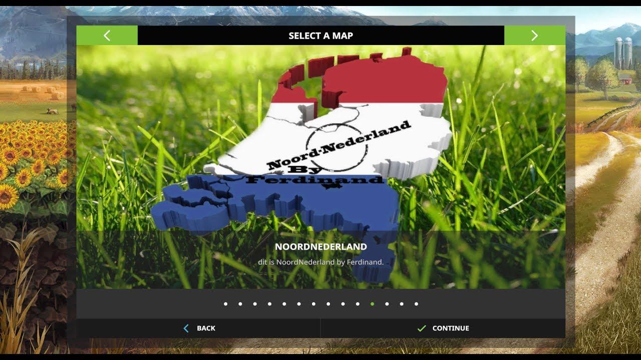 Canadian Map Fs17%0A Farming Simulator        Map Reviews   Noord Nederland v
