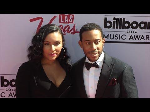 Ludacris & Eudoxie Mbouguiengue 2016 Billboard Music Awards Pink Carpet
