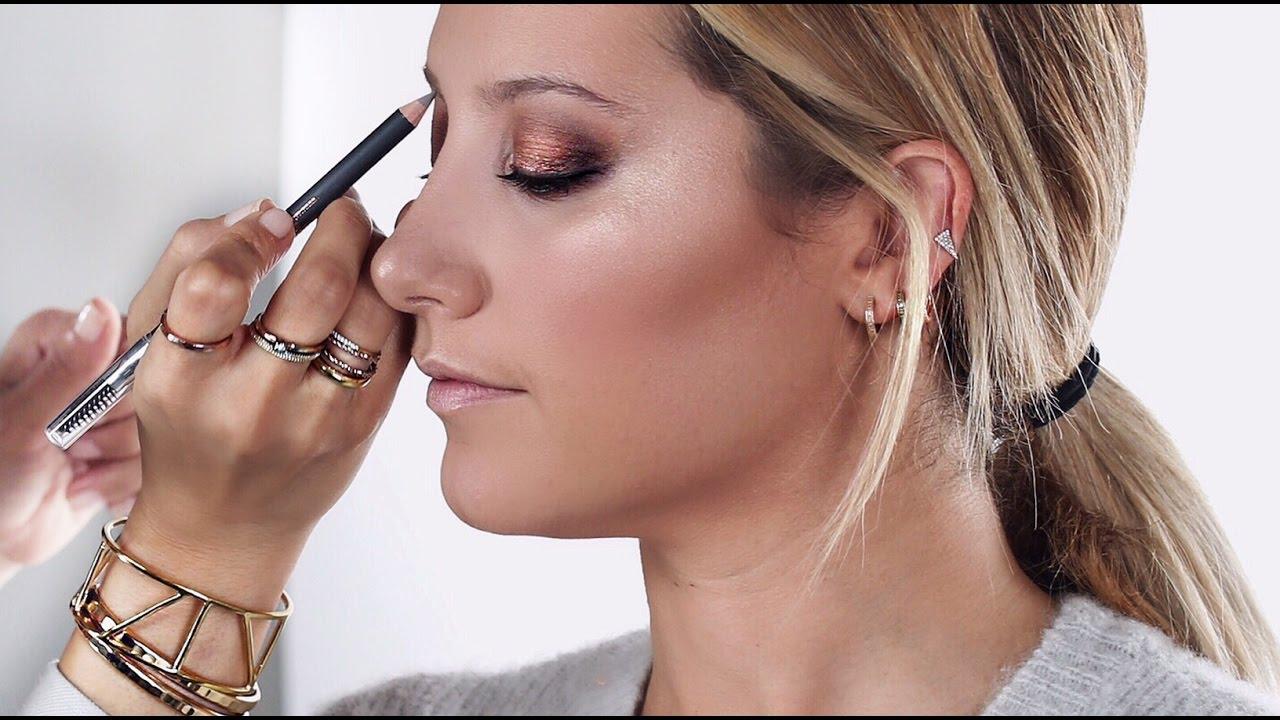 Download Golden Bronze Makeup Tutorial on Ashley Tisdale | 2016