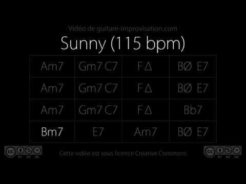 Sunny (115 bpm) : Backing Track