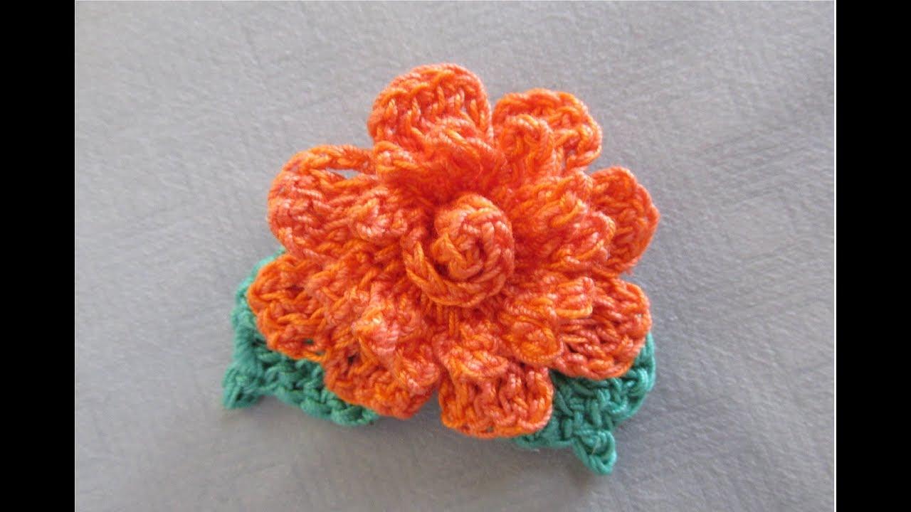 Cum crosetam floare Maria - foarte usor si rapid de facut / Tutorial pas cu pas