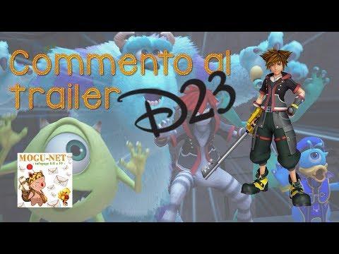 Commento al Kingdom Hearts 3 Monsters Inc Reveal Trailer (D23 Jap 2018)