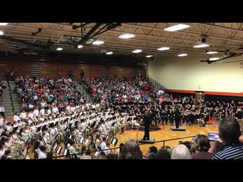 Republic Middle School Band 5-11-17