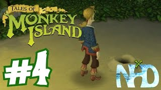 Tales of Monkey Island Chapter 1 - Launch of the Screaming Narwhal (pt4) X marks the spot