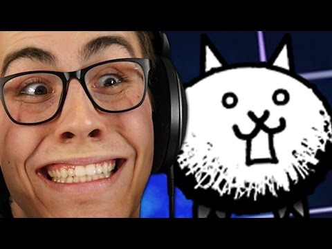 THE FIRST CRAZED CAT IS MINE!!  Battle Cats 29