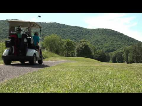 Raven Golf Club at Snowshoe Mountain Resort - Hole 1