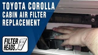 Cabin Air Filter fits Toyota Camry Corolla iM Hiace Hilux Prius Sienna