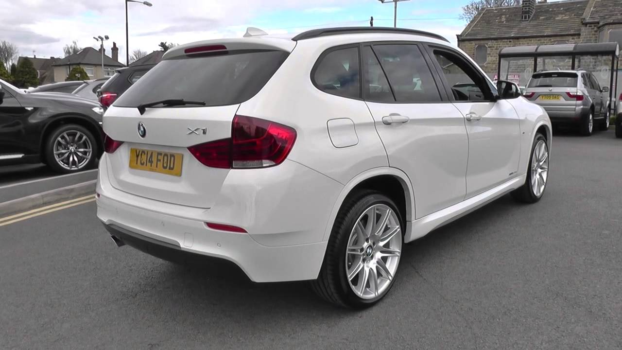 bmw x1 xdrive 20d m sport 5dr u26193 youtube. Black Bedroom Furniture Sets. Home Design Ideas