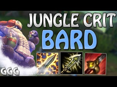 CRIT BARD IS OWNS THE JUNGLE!!! HOW MANY CHIMES CAN WE GET? - League of Legends S8 Jungle Gameplay