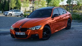 BMW 3 Series // ORANGE CHROME - GMG GARAGE