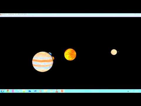 VRML planets