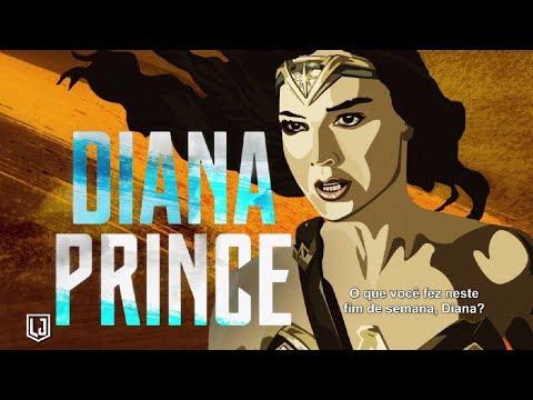 Liga da Justiça - Diana Prince é a Mulher-Maravilha (leg) [HD]