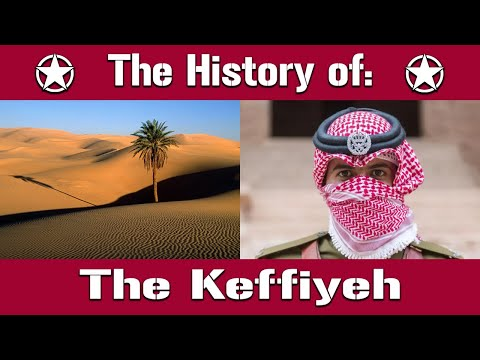 The Keffiyeh: The Origins And History Of The Famous Headpiece   Uniform History