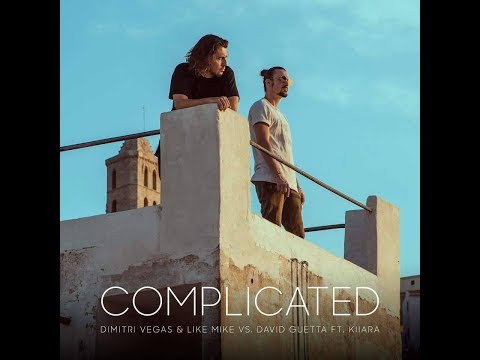 Dimitri Vegas & Like Mike vs David Guetta ft Kiiara - Complicated (Lyrics Video)
