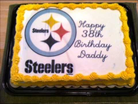 Steelers Football Cake Fumble YouTube