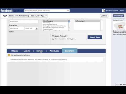 Facebook Job App Video Review