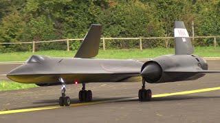 RC JET CRAZY FAST BLACKBIRD SR-71 TURBINE MODEL