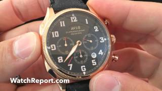 AVI-8 Supermarine Seafire Watch Review and Video Review