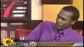 ABKA FITZ HENLEY Live on  CVM Television    sitting down for a chat with Kerine Miller and Rohan Daley   FULL INTERVIEW 0001
