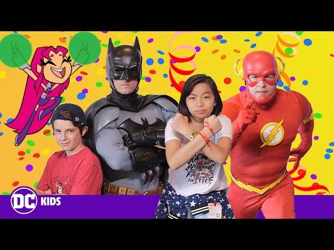 Behind The Scenes At YouTube | Meeting Batman And The Flash! | DC KIDS SHOW