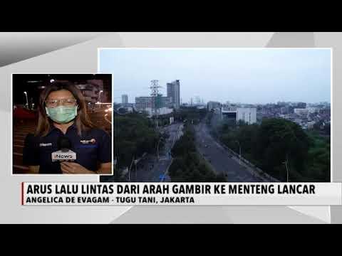 Kondisi Lalu Lintas Tugu Tani Usai Aksi Penolakan UU Cipta Kerja - INews Sore 13/10