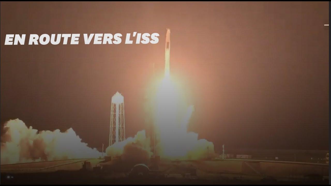 Revivez le décollage de Thomas Pesquet vers l'ISS avec SpaceX