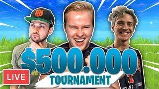 FORTNITE SUMMER SKIRMISH $500.000 TOURNAMENT!! - Royalistiq Fortnite Livestream (Nederlands)