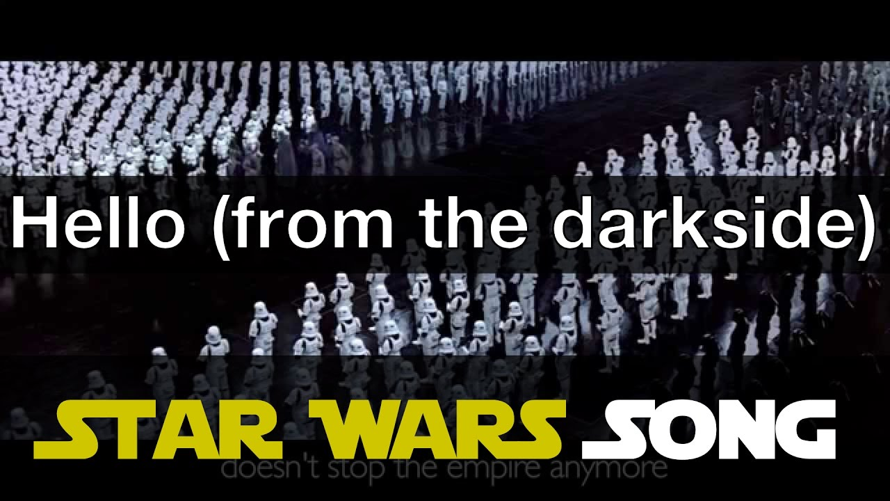 Adele hello from the dark side parody youtube nvjuhfo Images