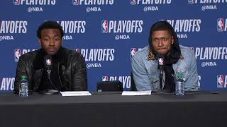 John Wall & Bradley Beal Postgame Interview | Wizards vs Raptors - Game 5 | 2018 NBA Playoffs