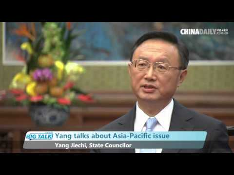 Chinese State Councilor on the issue of South China Sea