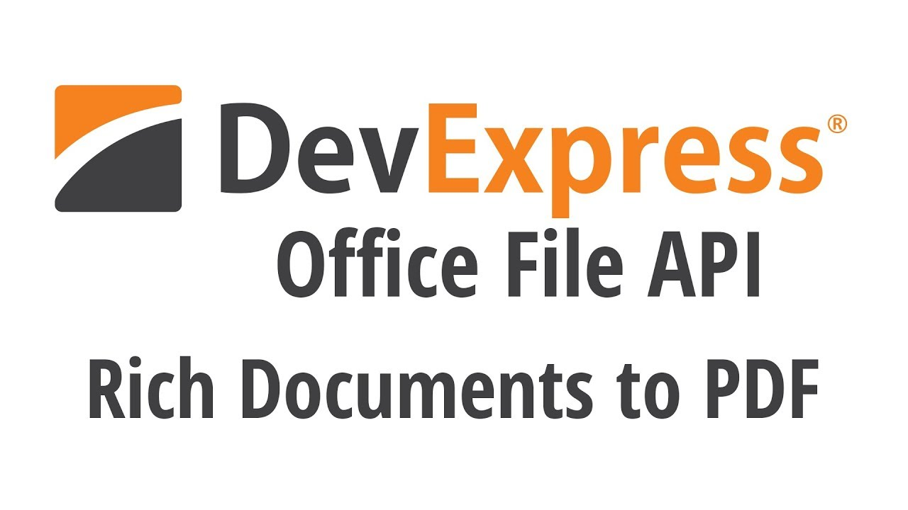 Office File API: Exporting Rich Documents to PDF