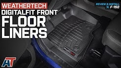 2015-2018 F150 Weathertech DigitalFit Front Floor Liners - Black with Vinyl Floors Review & Install