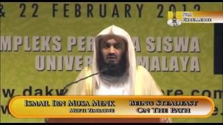 Being Steadfast On The Path   Mufti Ismail Menk