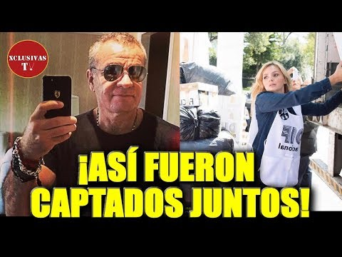 Angélica Rivera y 'El Güero' Castro son captados junto