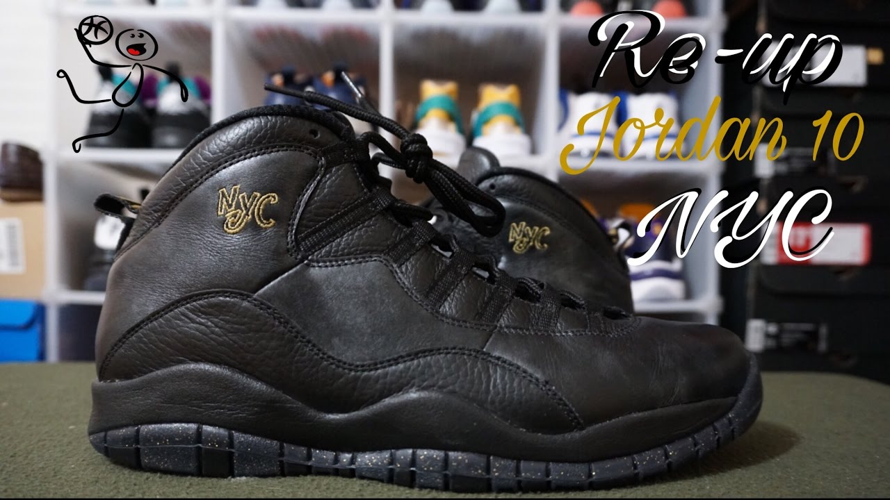 newest 1d43e d481b Poor packaging Finish Line Rant | Re-Up on Air Jordan 10 NYC