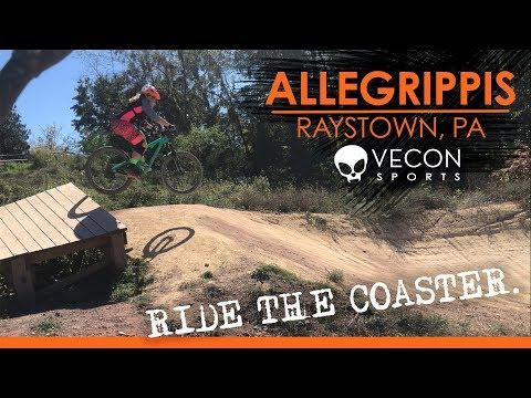 Mountain Biking Allegrippis Trails at Raystown Lake PA