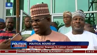 Political Round-Up: Kogi Governor Responds To Cabinet Controversies |Politics Today|