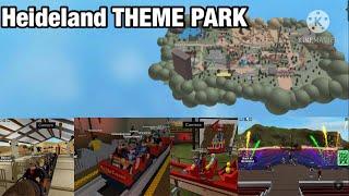 Greatest THEMEPARK In Roblox! | Heideland Theme Park | 28 MINUTE GAMEPLAY