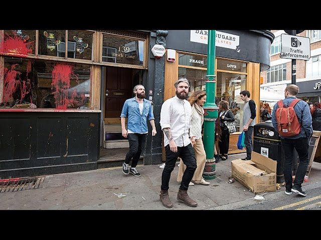 Angry Mob Destroys Hipster Cafe