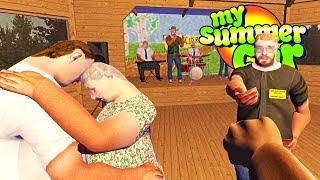 MY SUMMER NEW DRUNKEN DANCE PARTY BRAWL UPDATE! - My Summer Car Gameplay Highlights Ep 106